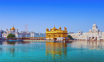 Golden Triangle With Golden Temple BookOtrip