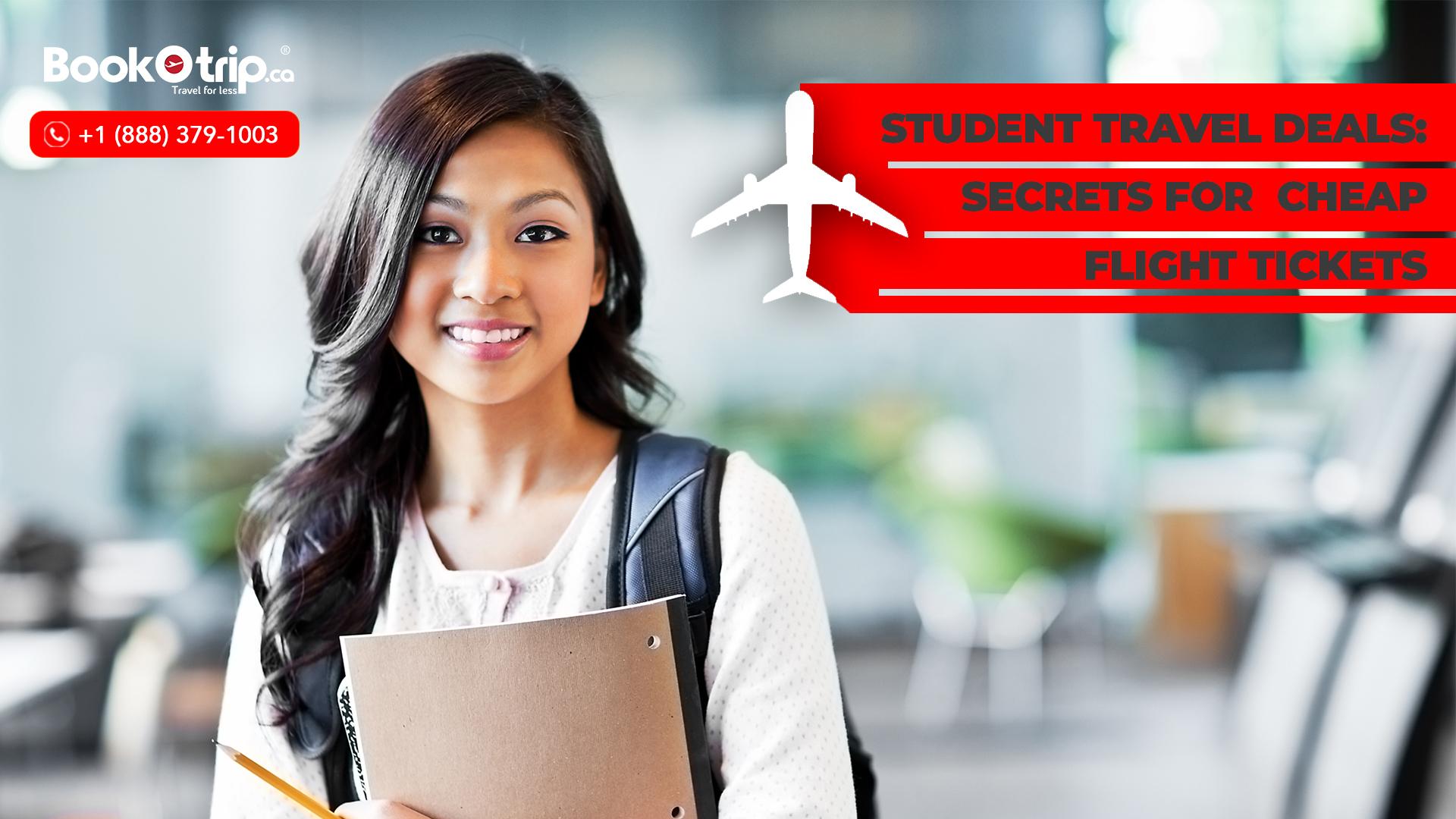 Student Flight Deals- BookOtrip.ca