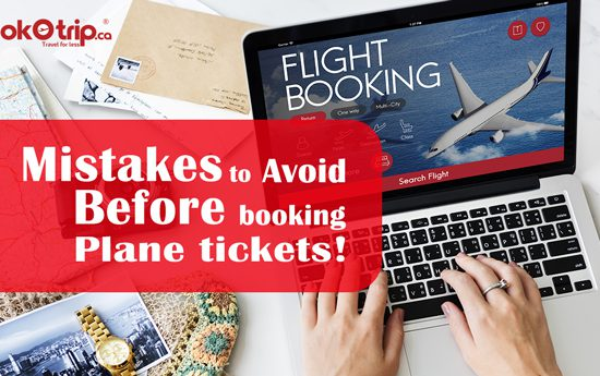 Mistakes to avoid before plane ticket booking