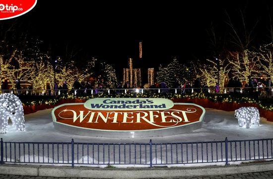 Canada's wonderland Winterfest