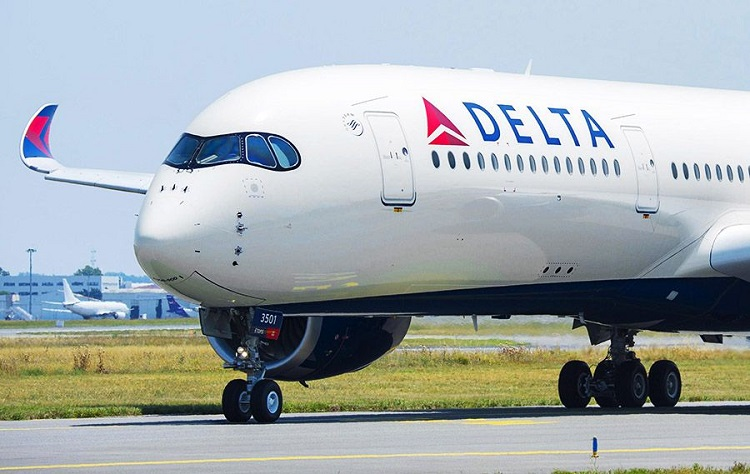 Delta International Airlines- airticket to delhi