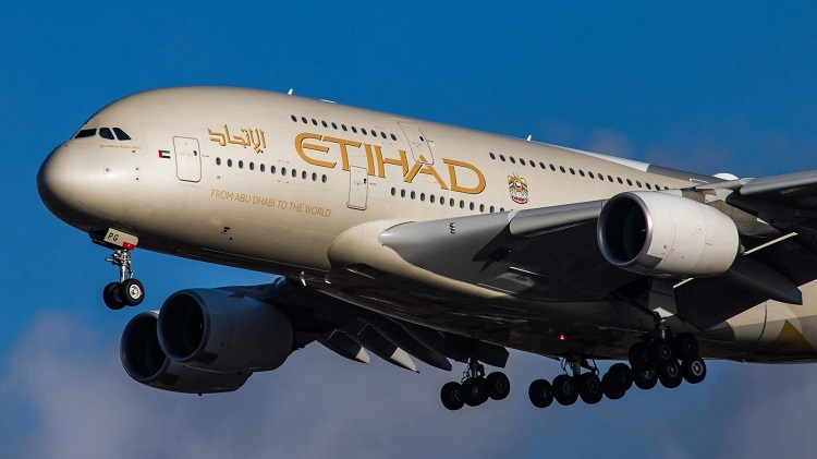 ETIHAD INTERNATIONAL AIRWAYS- flights to Delhi