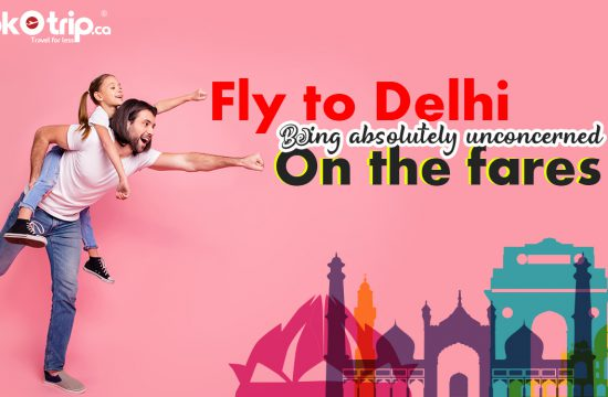 Find your Canada to Delhi flights