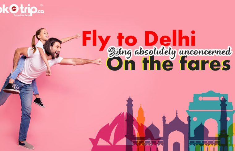 Find your Canada to Delhi flights