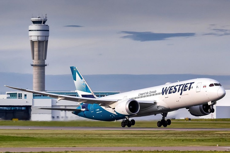 Westjet international airlines- flights to Delhi