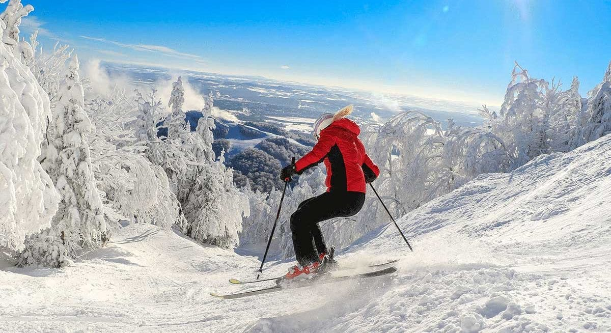 International Women's Day 2020 destination Solo Female Travel ski