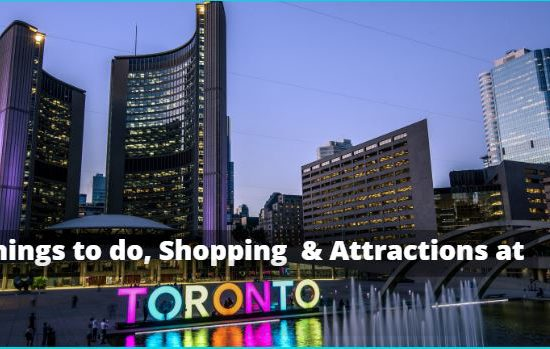 Things to buy in Toronto
